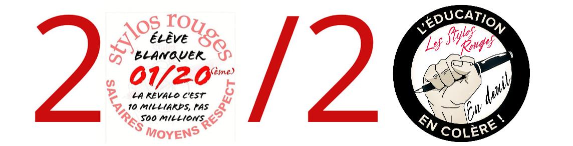 Les stylos rouges      SALAIRES / MOYENS / RESPECT